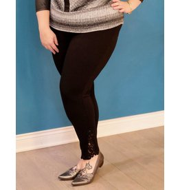 Nygard Slims Pull on Skinny with Lace