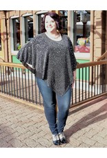 Pretty Women Sparkle Poncho