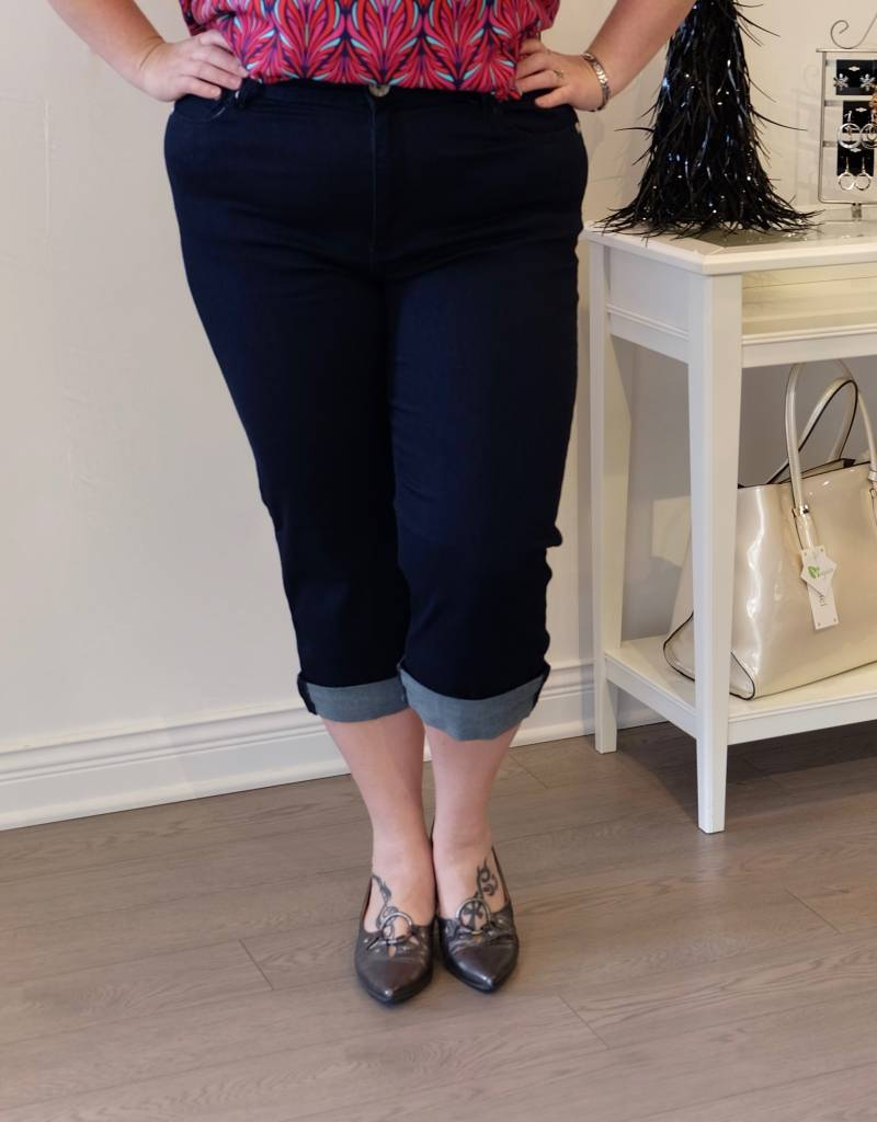 Carreli Jeans Angela High Rise Capri