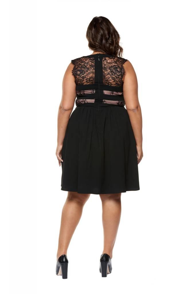 Dex Lace Yoke Dress