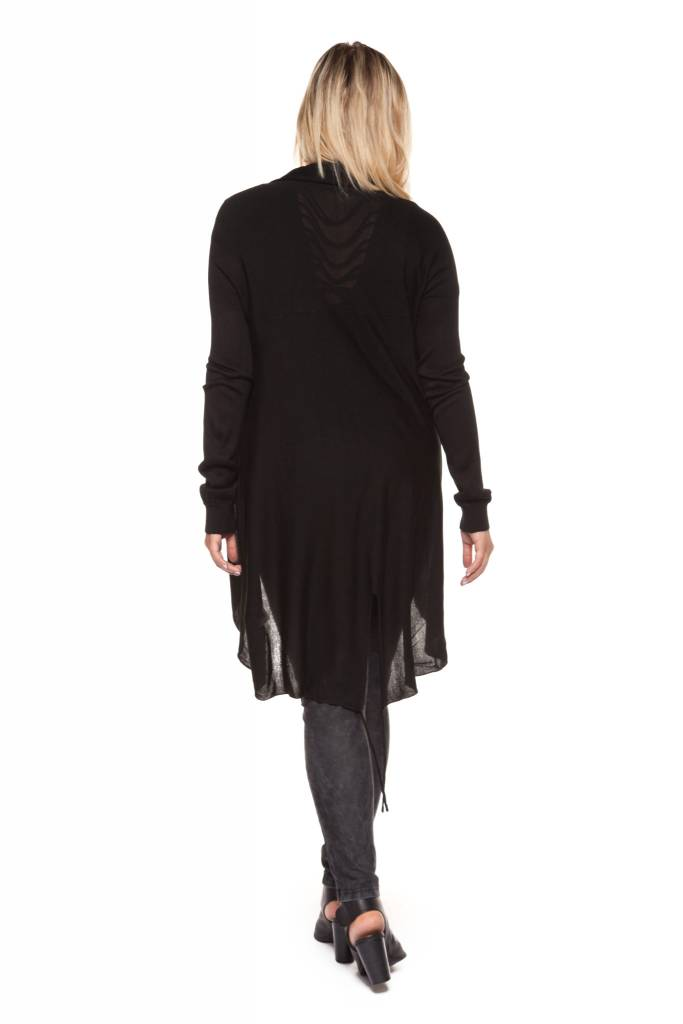Dex Back Slit Cardigan