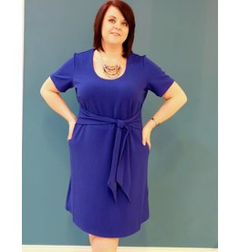 Dex Waist Wrap Dress
