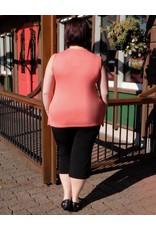Pretty Women Button Capri