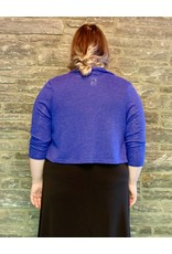 Purple Sweater Bolero