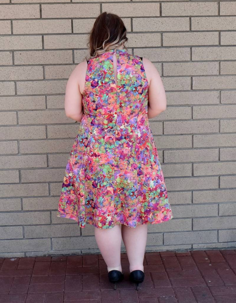 London Times Rainbow Dress