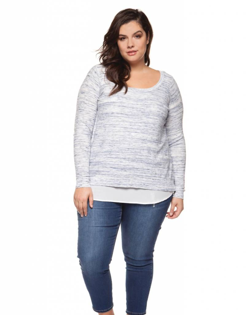 Dex Feather Sweater Top