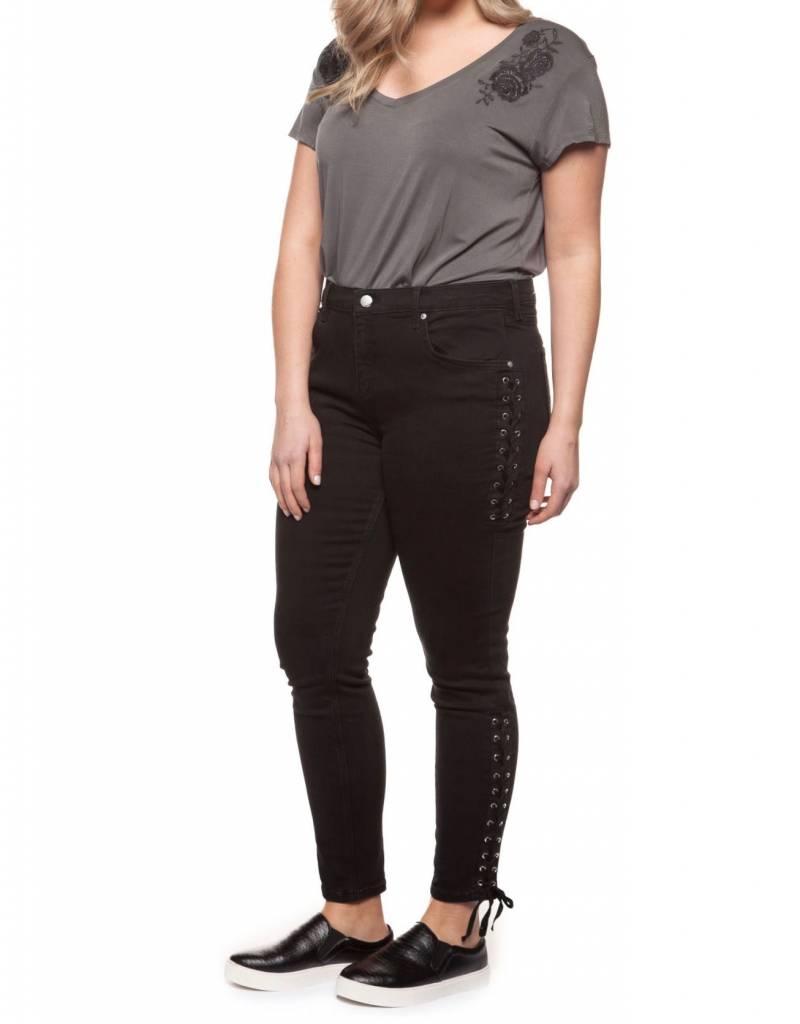 Dex Side Lace up Jean
