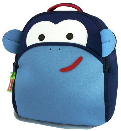 Dabba Walla Blue Monkey Backpack