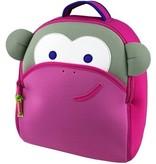 Dabba Walla Pink Monkey Backpack