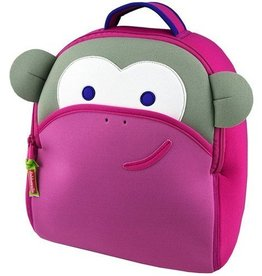 Dabba Walla Pink Monkey Backpack