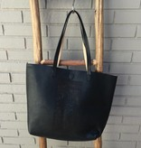 Triple 7 Global Black Perforated Tote