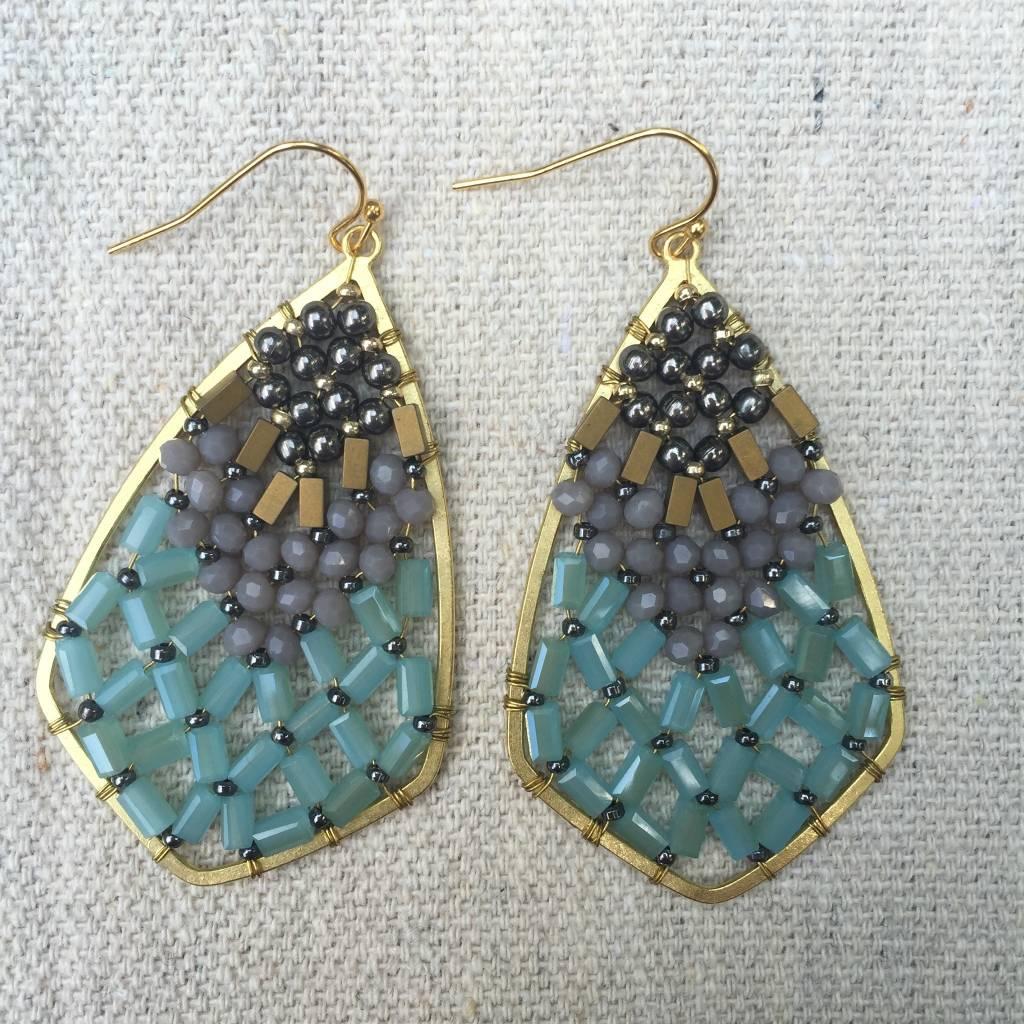 Nakamol WEX5899 Azure Earrings