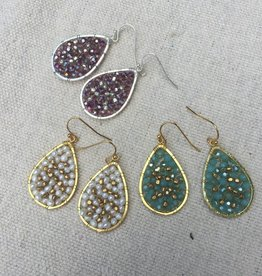 Nakamol WEX2020 Small Teardrop Earrings