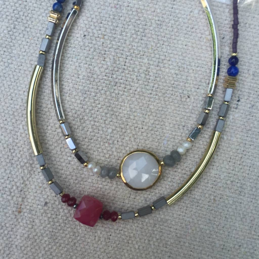 Nakamol CNX6157 Short Necklace