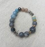 Nakamol CBX5439 Blue Grey Bracelet