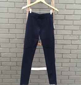 Tantrum Ink Trantrum Side Pleat Legging Navy