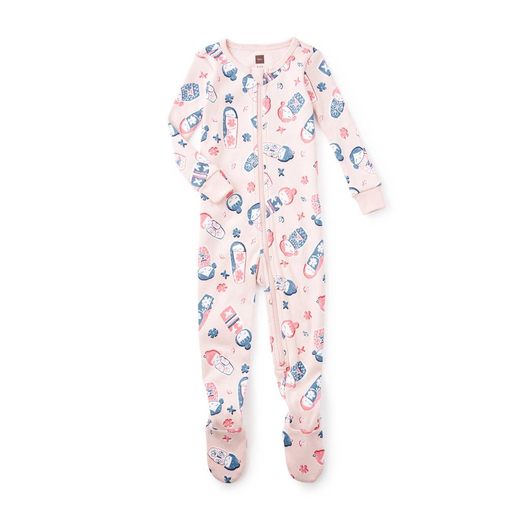 Yoi Yume O Footed Baby Pajamas ORIG 35