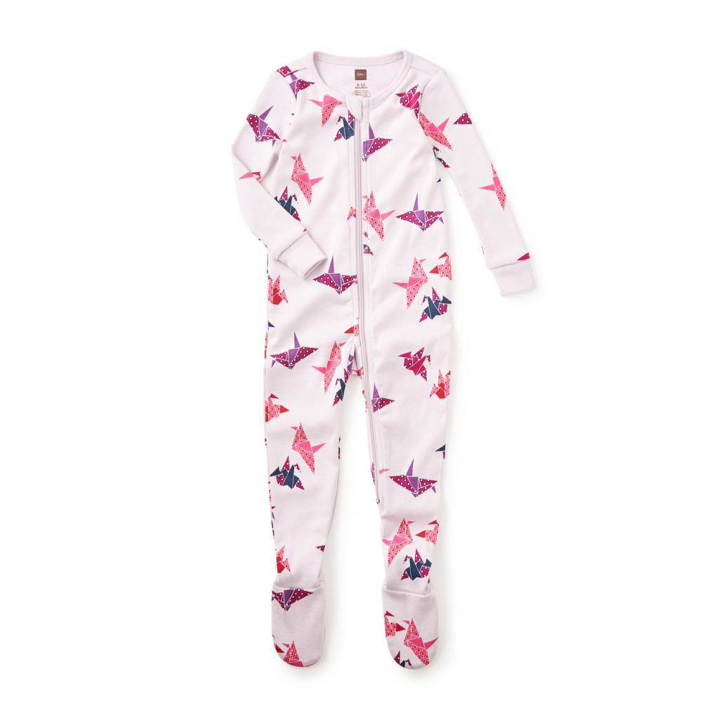 Paper Crane Footed Baby Pajamas  ORIG 35