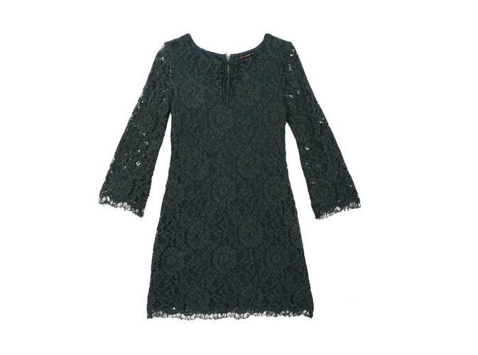 Ella Moss Terri A-line Lace Double Tie Dress ORIG 74