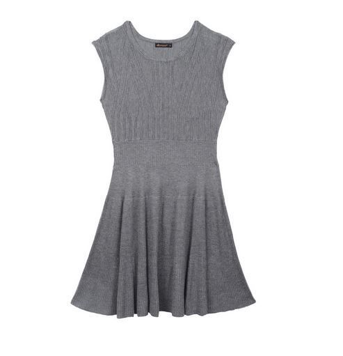 Ella Moss Lorie Sweater Dress Grey