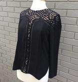 Aliston Lace Blouse Black ORIG 94