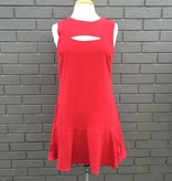 Greylin Helena Cutout Red Dress ORIG 120