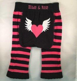 Blade & Rose Heart Angel Wings Leggings