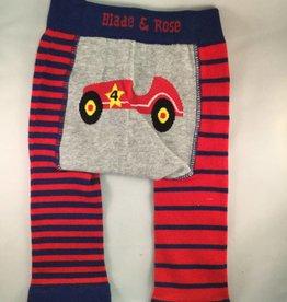 Blade & Rose Classic Car Legging Red Blue