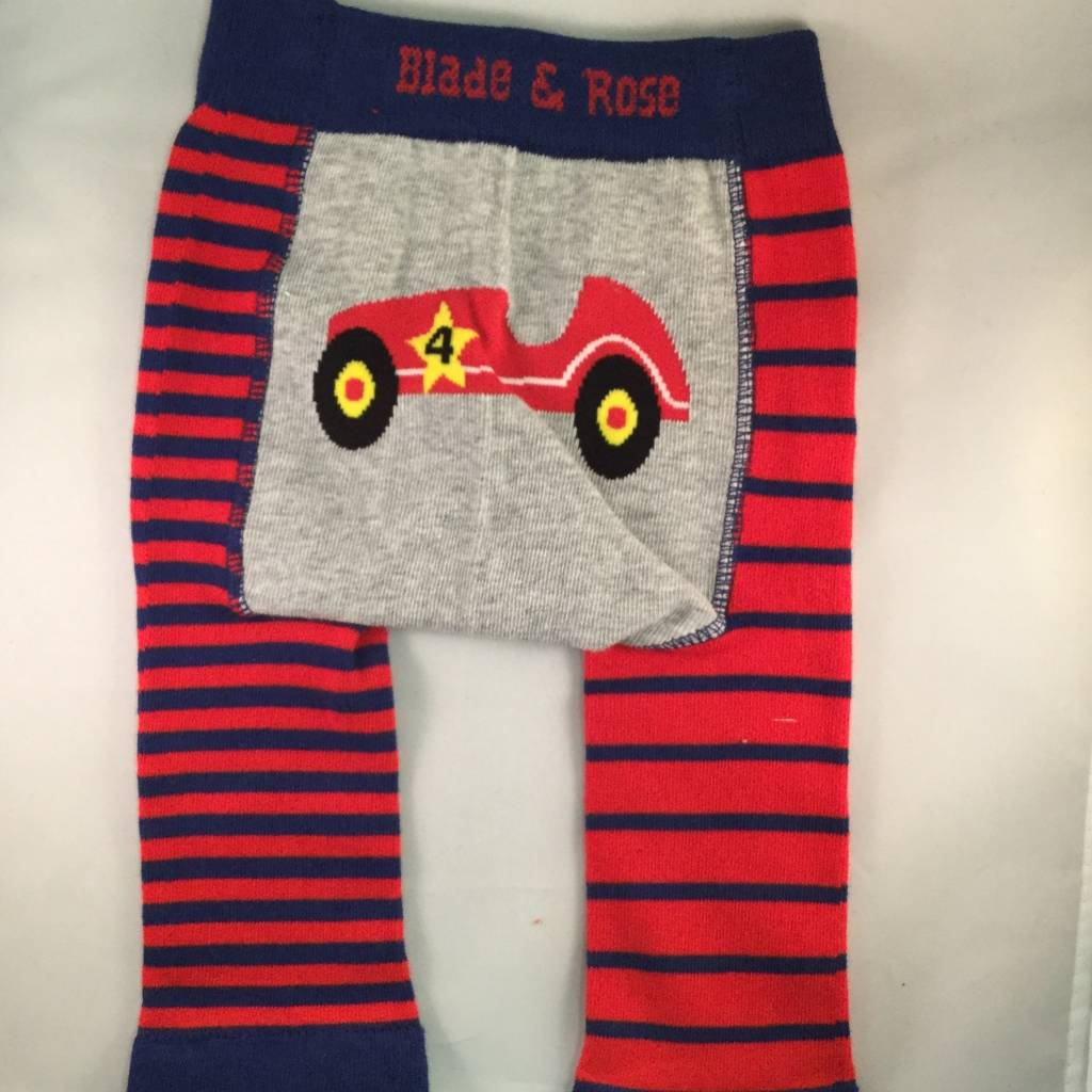 Blade & Rose Classic Car Legging Red Blue