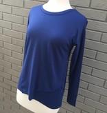 Mod-O-Doc Asymmetrical Pullover in Bluestone ORIG 72