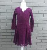 Ella Moss Gwen Allover Lace Dress Purple Violet ORIG 74