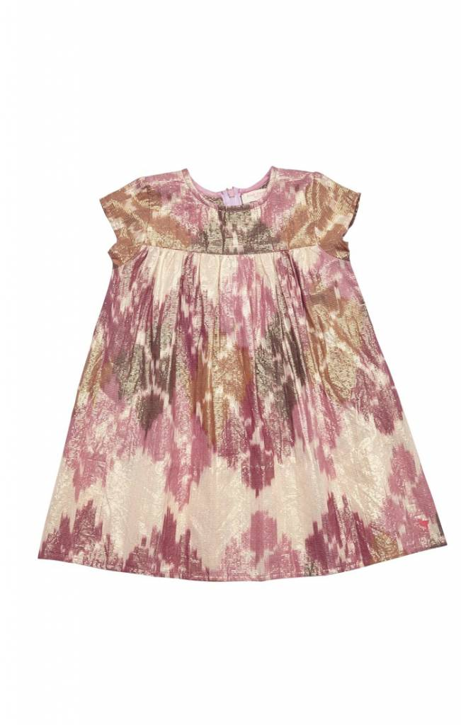 Pink Gold Ikat Melodie Dress ORIG 74