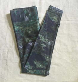 Terez Wide Waistband Heathered Camo Leggings