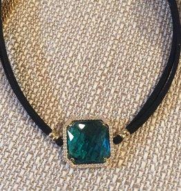 Nakamol CNXD16 Square Stone Choker Blue