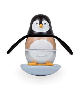 Janod Penguin Stacker Rocker Toy