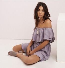 Chloe Dress in Lilac Grey