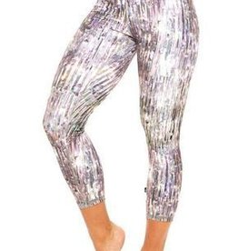 Terez Crystalized Capri Leggings