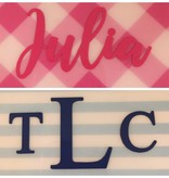 Blue Stripe Personalized Frame