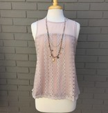 Greylin Rose Leila Lace Woven Top ORIG 94