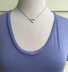 Marlynn Schiff 8493 Gold Wishbone Necklace