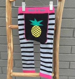 Blade & Rose Pineapple Stripe Leggings