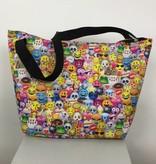 Iscream Emoji Collage Neoprene Overnight Bag