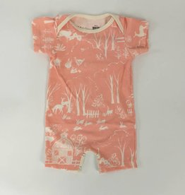 Winterwater Farm Next Door Summer Romper Pink Blush