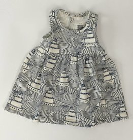 Winterwater Oslo Baby Dress High Seas Navy