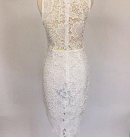 Samantha White Lace Dress