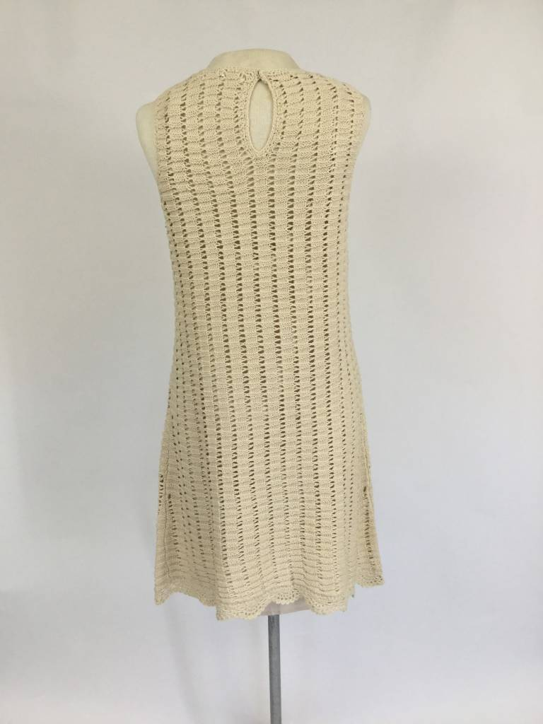 Natural Crochet Maya Dress