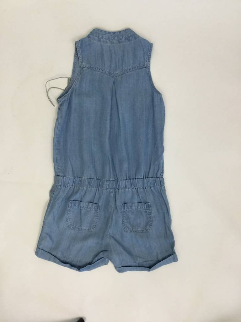 Tractr Girls Denim Romper