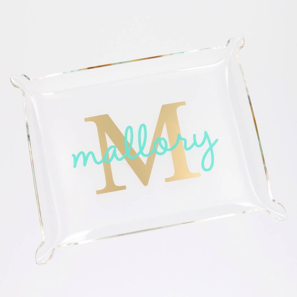 Heartstrings Personalized Acrylic Tray