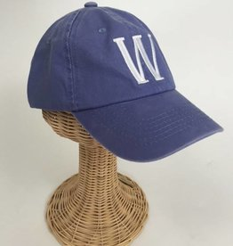 Blue Stonewash Baseball Hat Personalized with Zip Code