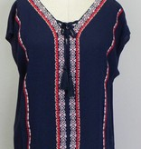 THML Sleeveless Top with Embroidery